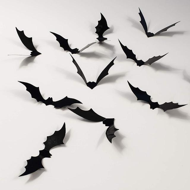 3D Halloween Bat Decorations