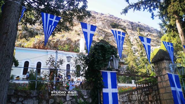 Γιορτάζει το εκκλησάκι του Αγίου Ιωάννου του Θεολόγου στο Ναύπλιο (βίντεο)