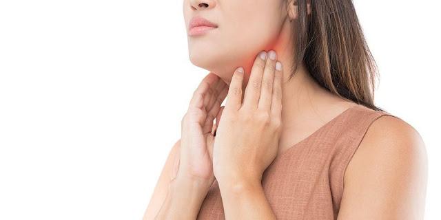 benjolan di leher
