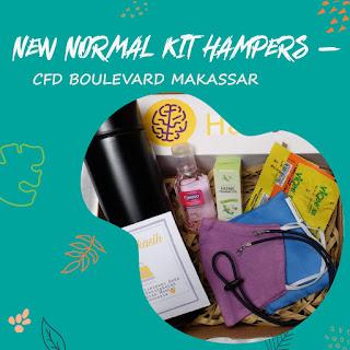 Reportase : Penjualan New Normal KIT Hampers di CFD Boulevard Makassar