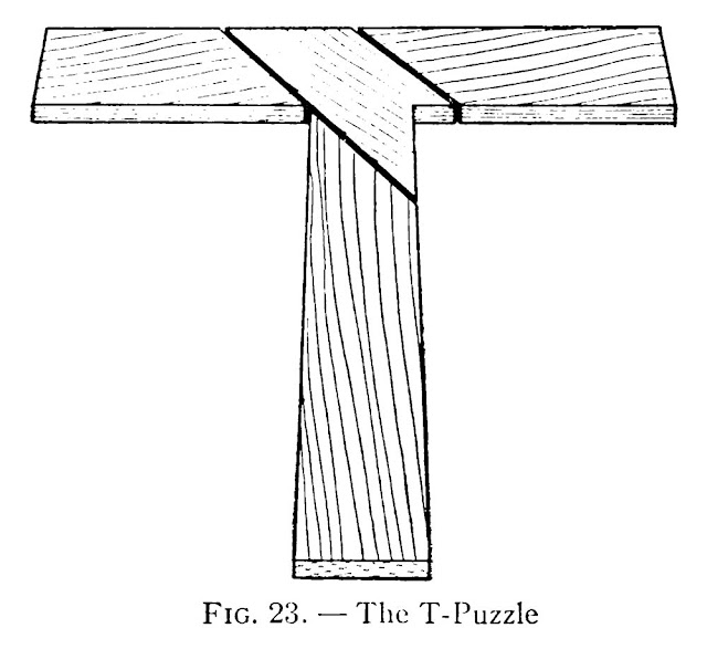 T-Puzzle plan - How to make T-puzzle