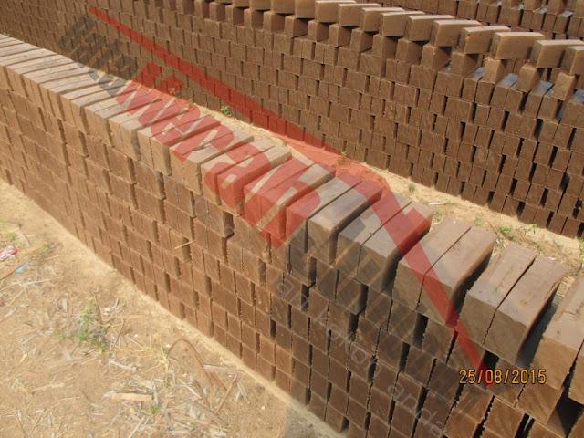 penjemuran batu bata merah