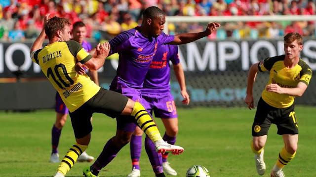 International Champions Cup: Sempat Unggul Duluan, Liverpool Dikalahkan Dortmund 1-3