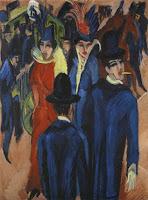 Ernst Ludwig Kirchner, Scène de rue à Berlin, 1913