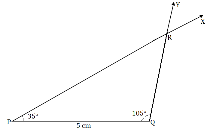 NCERT Solutions for Class 7 Maths Ch 10 Practical Geometry Exercise 10.4 Answer 2