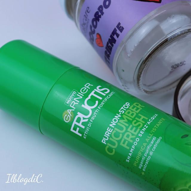 Shampoo secco Garnier Fructis