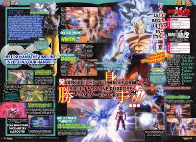 """Goku versión Ultra Instinct definitivo se une a """"Dragon Ball Xenoverse 2""""."""