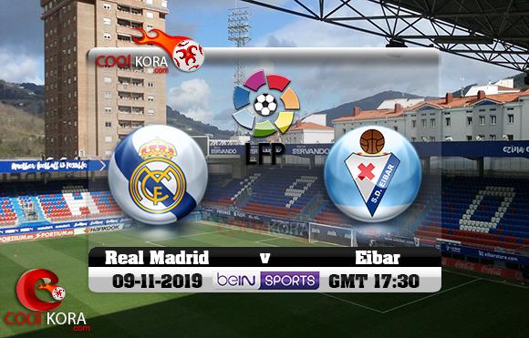 مشاهدة مباراة إيبار وريال مدريد اليوم 9-11-2019 في الدوري الأسباني