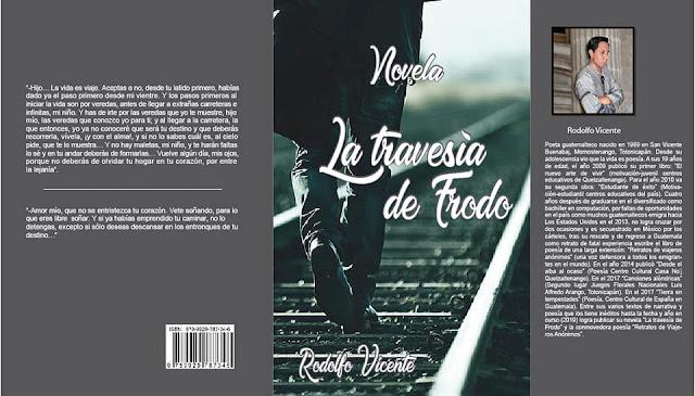 Portada del libro La Travesía de Frodo de Rodolfo Vicente