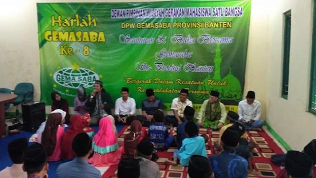 Harlah Gemasaba Banten : Menjalin Silaturrahmi dan Berbagi di Bulan Ramadhan