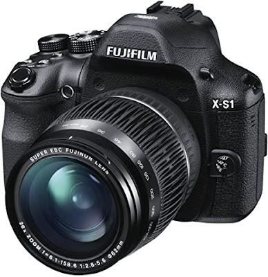 Fujifilm X-S1デジタルカメラのファームウェアのダウンロード