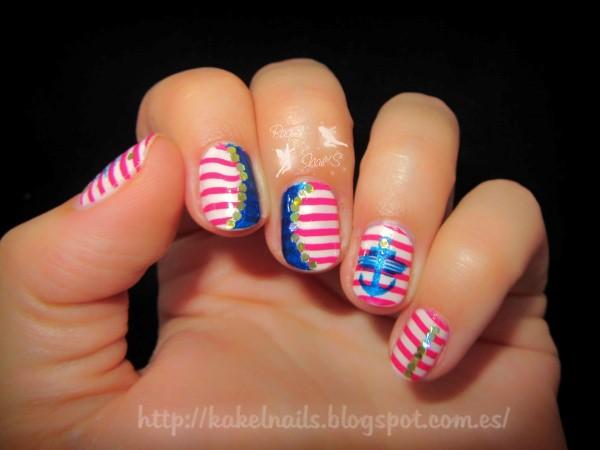 nail-art-navy