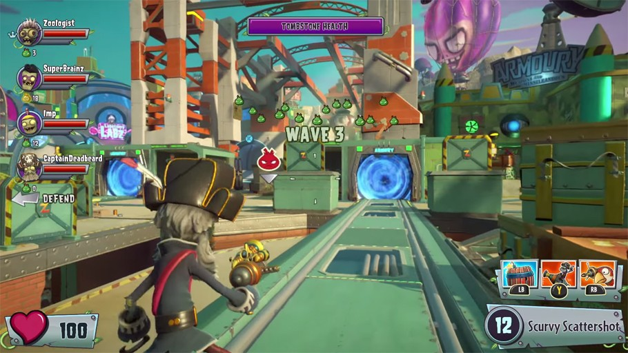 Plants vs  Zombies: Garden Warfare 2 - Review | The Bookish Gamer
