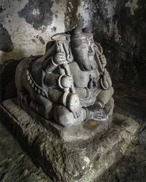 Rare Agni Murti In Pateshwar Shiva Temple