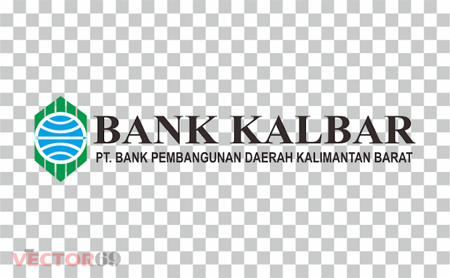 Logo Bank Kalbar Landscape - Download Vector File PNG (Portable Network Graphics)