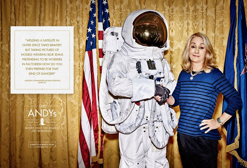 ANDY Awards 2015 Call for Entry astronaut