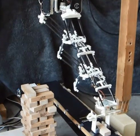 DIY 3D Printing: Triple Delta robotic arm with extended reach and