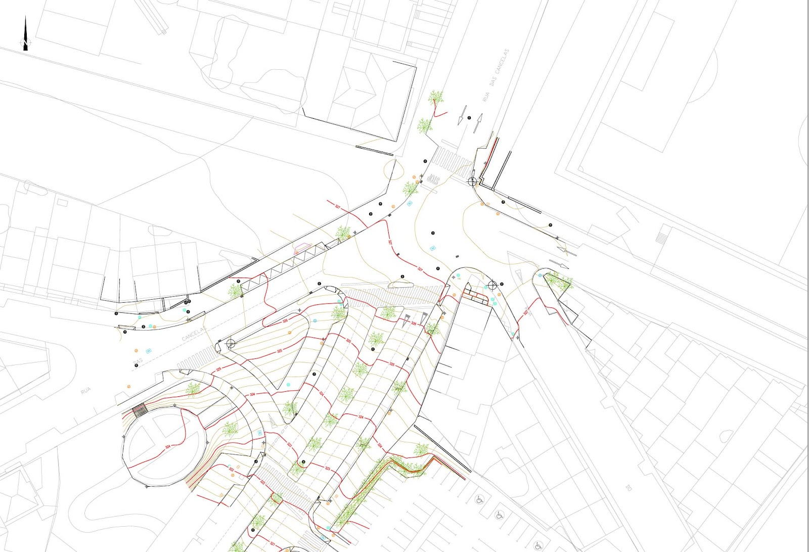 Ciudad Milenaria Disenadas Las Nuevas Rotondas De As