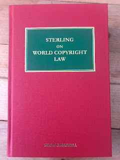 Book Review: Sterling on World Copyright Law