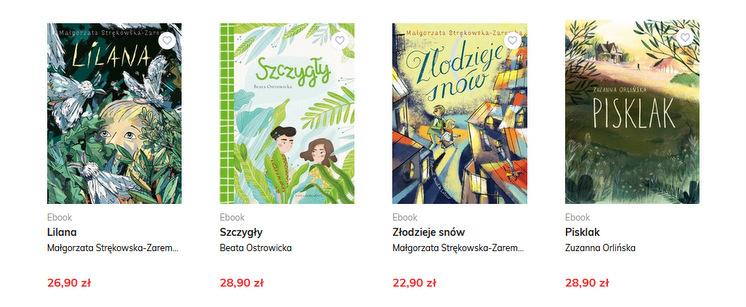 Nasza Księgarnia, e-booki