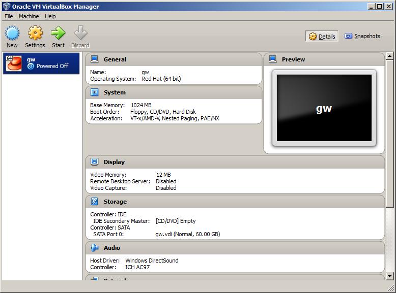 Study for RHCE: Lab Setup: Step 2 Create a Lab Server