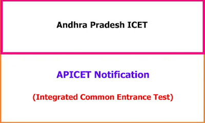 APICET Notification