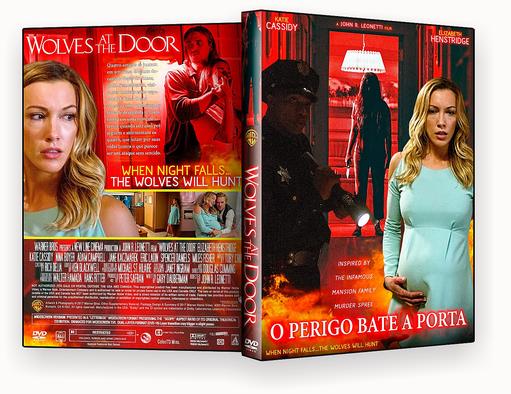 CAPA – O Perigo Bate A Porta 2017 DVD-R AUTORADO