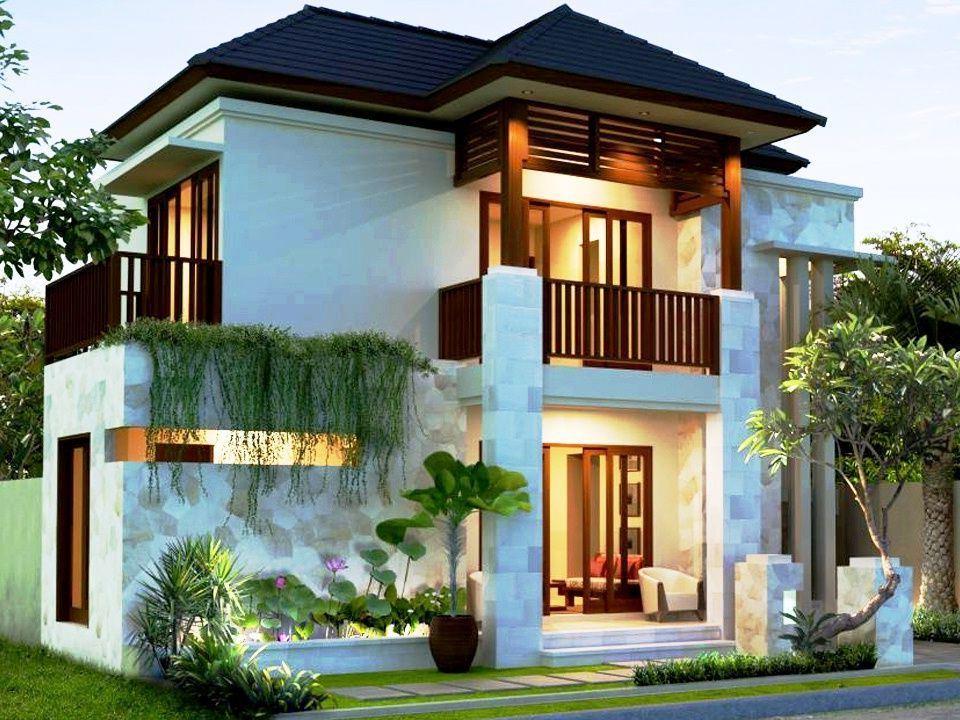 Desain Rumah Minimalis 2 Lantai Modern Elegan