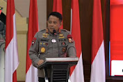 Pengarahan Dankor Brimob Polri pada Perwira dan Bintara Remaja