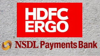 NSDL Payments Bank partnered with HDFC ERGO