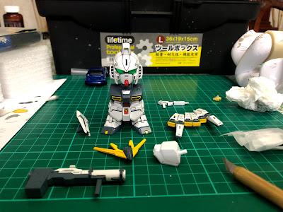 G Generation-F SD BB Senshi RX-93 Nu Gundam G Generation-F SD BB Senshi RX-93 Nu Gundam Assembly