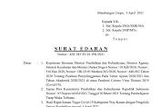 Bupati Terbitkan SE Tentang PT M Tingkat SMP dan SMA