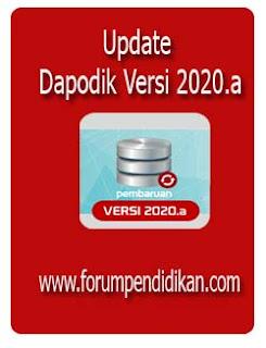 Update Dapodik Versi 2020.a