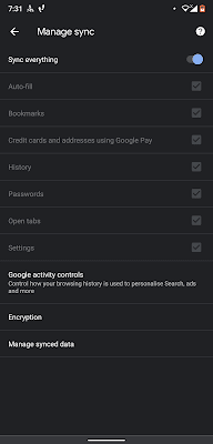 import bookmarks from chrome to Firefox on android
