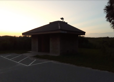 Canaveral National Seashore Playalinda Beach Parking Area 8 Restroom