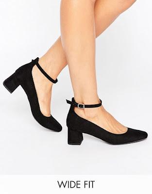 Zapatos de Tacon Bajo modernos