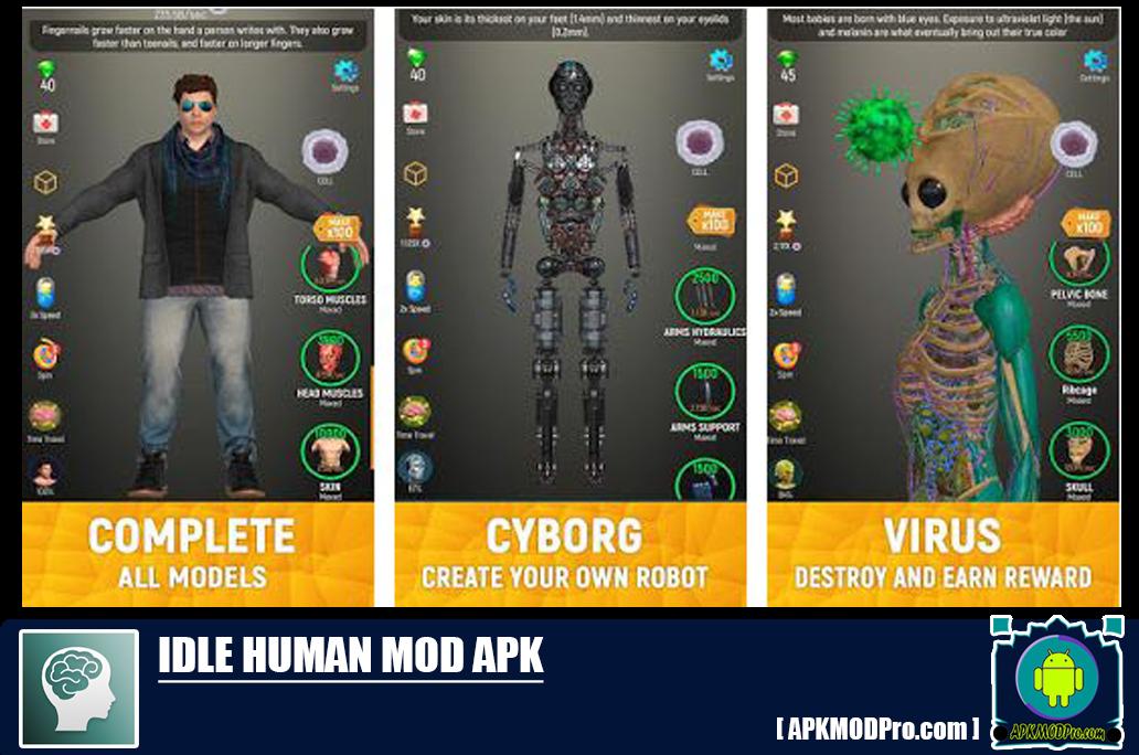 Download Idle Human Mod Apk