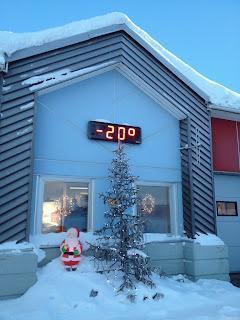 マイナス20℃