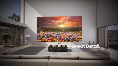 شركة سامسونج Samsung تعلن عن تلفزيون The Wall Luxury بقياس يصل 292 بوصة ودقة 8K