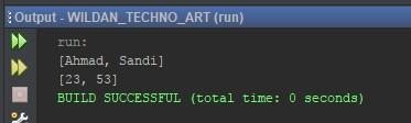 Mengahpus salah satu Data ArrayList