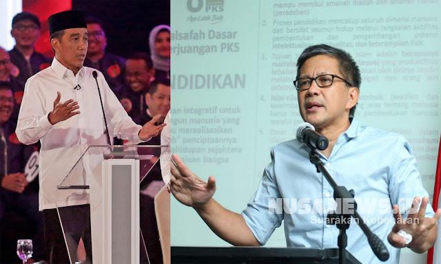 Andi Arief Siap Jadi Moderator Debat Jokowi vs Rocky Gerung