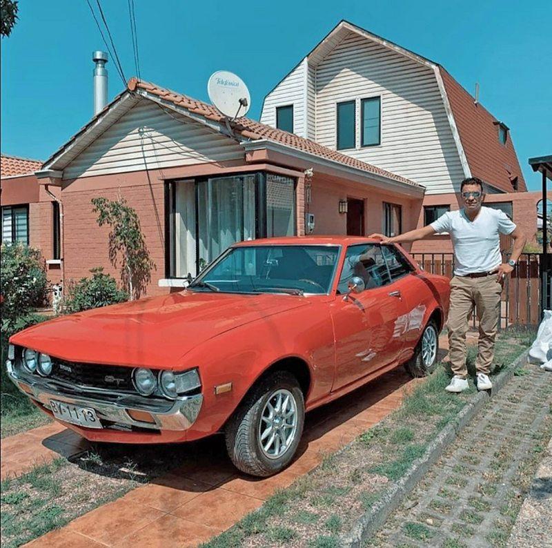 Claudio Palma cuenta por qué vende su Toyota Celica del 77