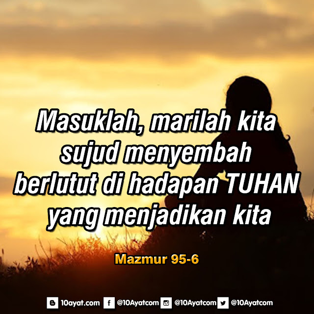 Mazmur 95:6