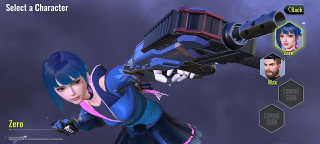 Cyber Hunter Character