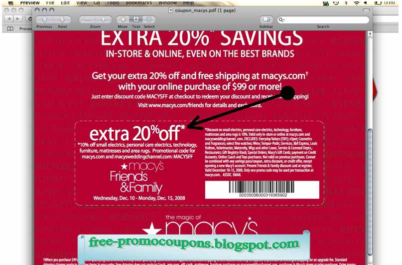 Macy coupons in store printable 2018