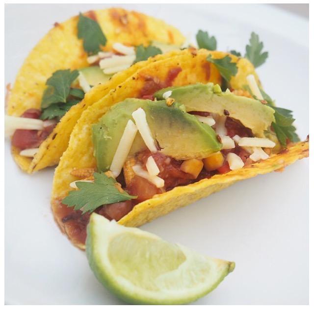 vegetable tacos recipe