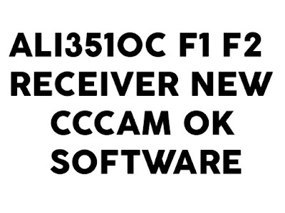ALI3510C F1 F2 Green GOTO Receiver New CCCAM OK Software