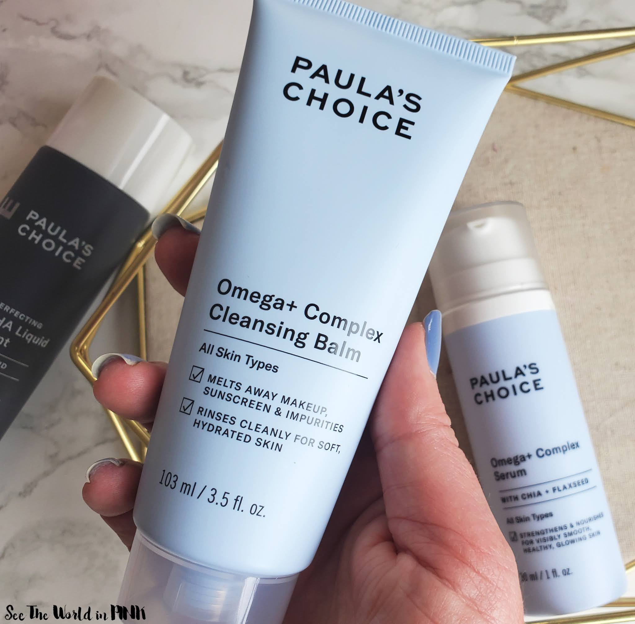 Skincare Sunday - Paula's Choice Omega+ Complex Cleansing Balm (a.k.a. I Found The One Cleansing Balm To Rule Them All)