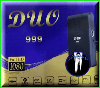 احدث سوفت وير DUO 999 HD تفعيل IPTV و شيرنج مجانى