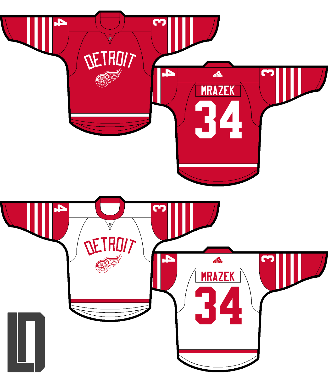 e6c5aa2efe4 Lucas brings us a Red Wings concept based on two of their three latest  outdoor games, the upcoming Centennial Classic and the 2014 Winter Classic.